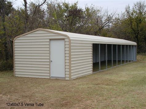 Metal Loafing Shed Kits by Loafing Sheds Versatube Barn Loafing Sheds Run Ins
