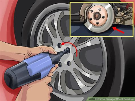 change wheel bearings  steps  pictures