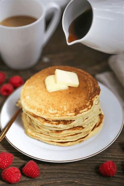 Pancakes Buttermilk Breakfast Recipe Fluffy Whatshouldimakefor Morning