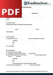 der darlehensvertrag definition und muster als