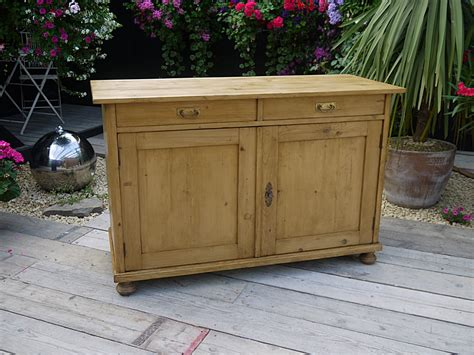 What Are Sideboards by Wonderful Large Antique Waxed Pine Dresser Base