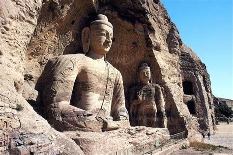 rock statues buddha stone carved sculptures and statues around the world hd wallpaper