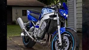 Custom Yamaha R6 streetfighter - YouTube