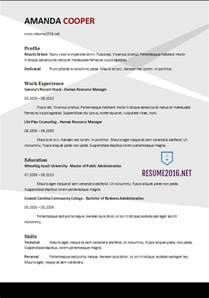 best it resumes 2017 resume format 2017 20 free word templates