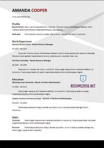 it resume format 2017 resume format 2017 20 free word templates