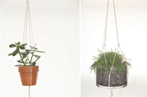 diy hanging planter diy hanging plant holder a daily somethinga daily