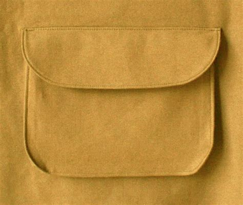 installer le de poche coudre une poche 224 soufflet ronde