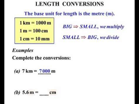 year  lesson length conversions  youtube