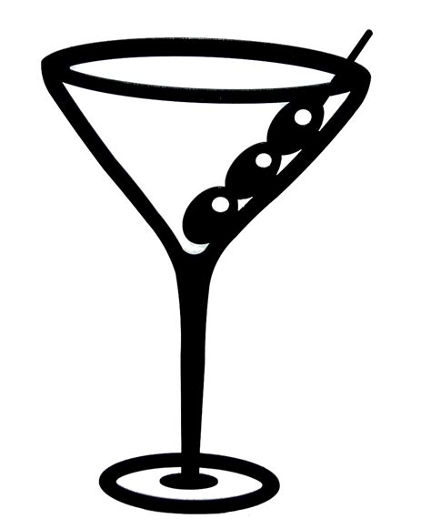 mixed drink clipart black and martini clip art cliparts co