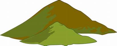 Clipart Mountain Clip Hill Mountains Hills Montain
