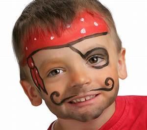 Maquillage Enfant Facile : id es g niales pour un maquillage pirate express ~ Farleysfitness.com Idées de Décoration