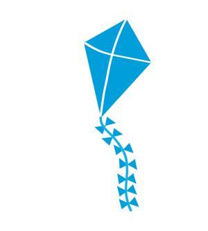 kites  notan design color  cloth