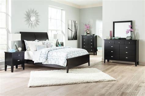 Braflin Contemporary Black Master Bedroom Set The Classy