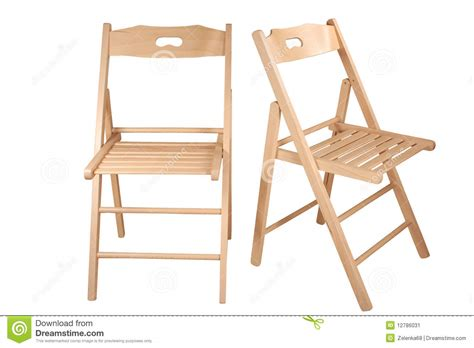 folding chair stock image image 12786031
