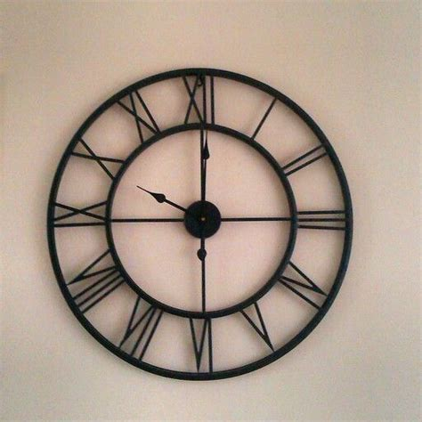 25 beste idee 235 n grote klok op wandklok - Klok Woonkamer