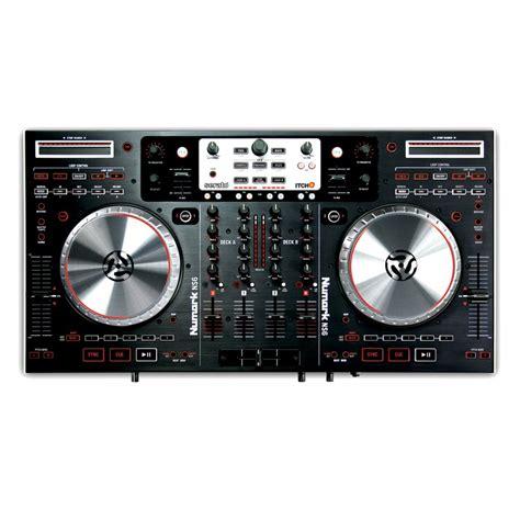 numark dj console numark ns6 4 channel serato itch dj controller and mixer