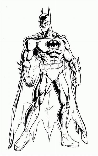 Batman Knight Dark Coloring Pages Deviantart Inked