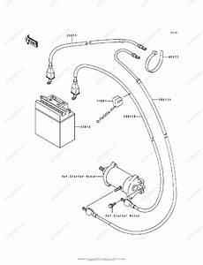 Kawasaki Jet Ski 1995 Oem Parts Diagram For Electrical