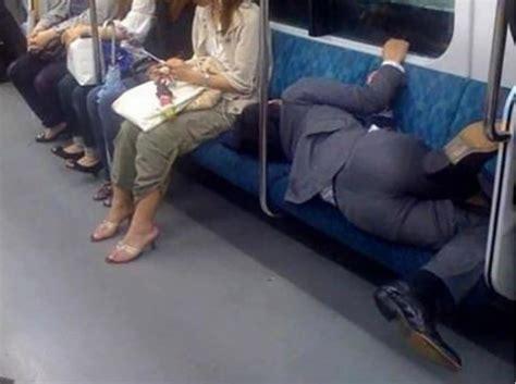 strangest people youll     subway