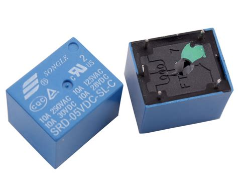 Pcs Songle Power Relay Srd Vdc Mini Pcb