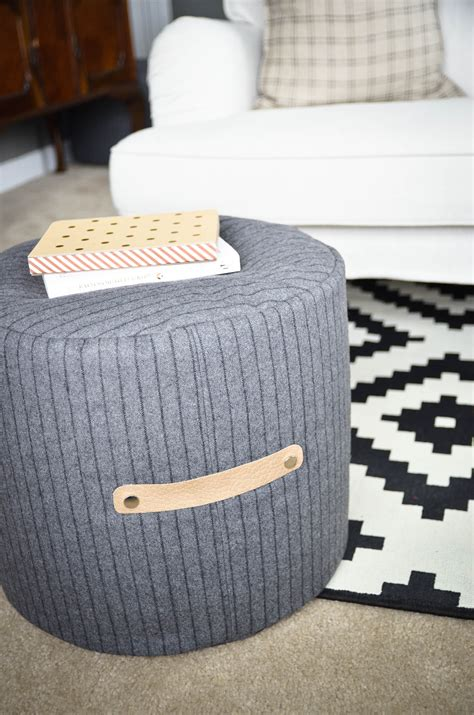 Diy Ottoman Pouf by Diy Floor Pouf Tutorial Project Nursery