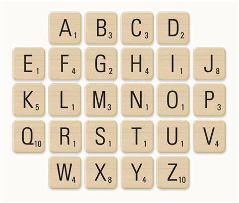 scrabble letters     date event design