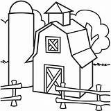 Barn Coloring Silo Barns Pages Simple Colouring Drawing Elevator Grain Sheets Farm Clipart Clip Printable Animals Colorluna Quilt Getdrawings Luna sketch template