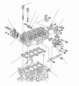 Cylinder Head Component Location Index  R18a
