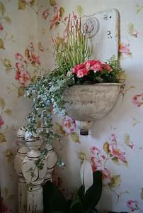 Vintage Tapete Blumen : 50 vintage tapete ideen die dem raum einen unvergleichbaren charme vermitteln ~ Sanjose-hotels-ca.com Haus und Dekorationen