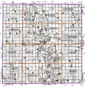 Boone County Iowa Map