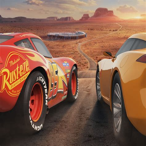 Wallpaper Cars 3 Lightning Mcqueen Cruz Ramirez Pixar