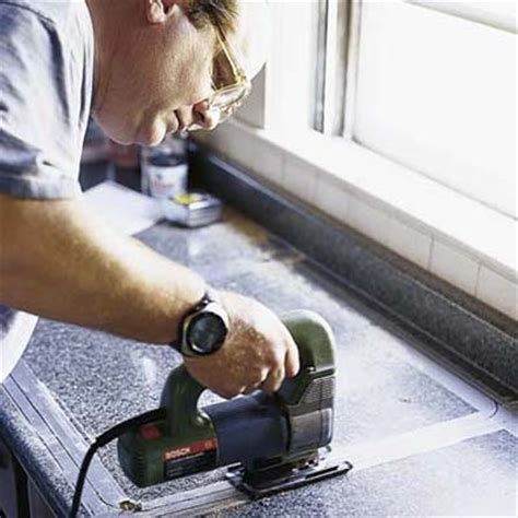 Cut Sink Opening How To Install A Kitchen Sink This