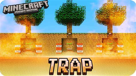 Exploding Tnt Tree Trap Tutorial! Troll