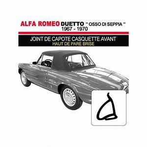 Casquette Alfa Romeo : joint de capote casquette avant pour cabriolets alfa romeo duetto 1600 1750 ~ Nature-et-papiers.com Idées de Décoration
