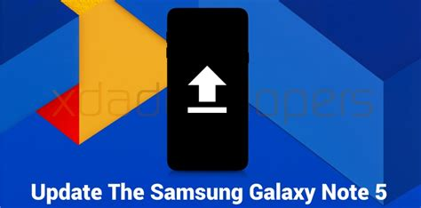 Update The Samsung Galaxy Note5