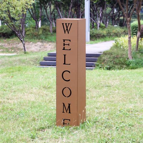 Gartendeko Rost Kaufen by Edelrost Garten Deko Dekos 228 Ule Rost Welcome Kaufen Bei