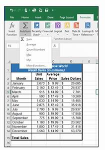 Excel Functions List 1 3 Formatting And Data Analysis Beginning Excel