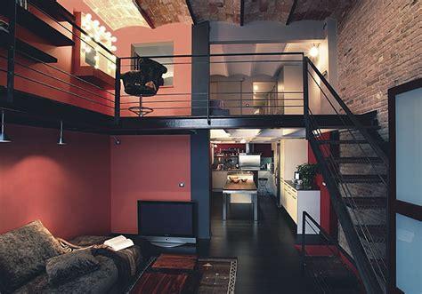 deco chambre loft décoration loft industriel chambre