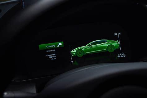 Aston Matin Car : 2020 Aston Martin Unwraps Its First Electric Car, The