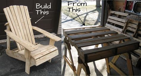 woodwork   build adirondack chairs   pallets