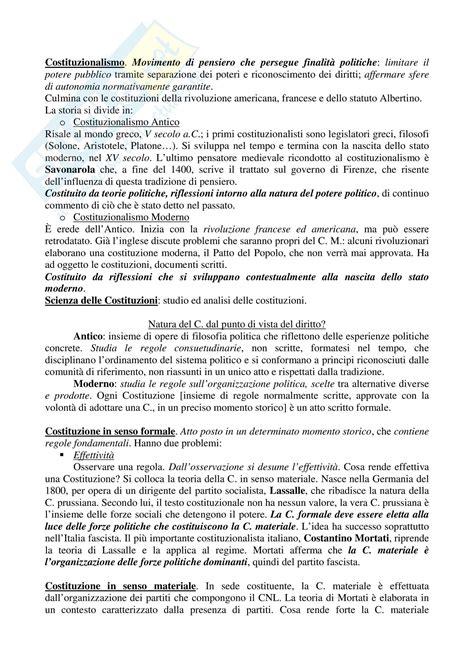 dispensa diritto pubblico appunti diritto pubblico
