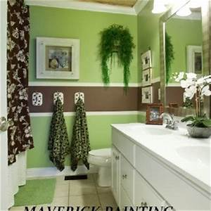 green and brown striped bathroom ideas for the home With green and brown bathroom decorating ideas