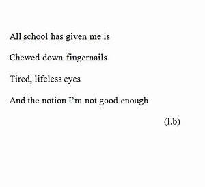 school makes me feel suicidal | Tumblr