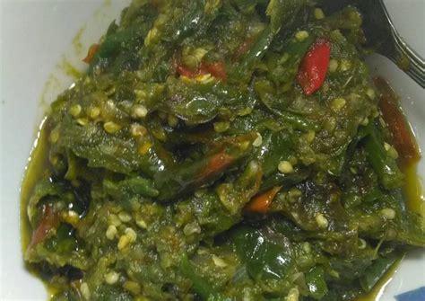 Sedangkan nasi goreng jawa kraton kurang asli karena. Resep Sambal cabe hijau / sambal hijau padang oleh alickaa - Cookpad