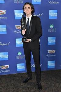 Timothee Chalamet at the 29th Annual Palm Springs ...