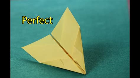 Perfect Paper Airplane