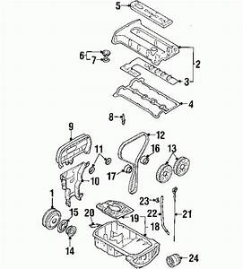 2002 Kia Spectra Engine Diagram