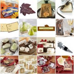 ideas for wedding favors ideas for fall wedding favors cherry