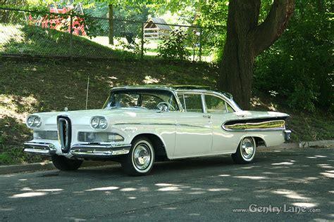 1958 Edsel Pacer   Gentry Lane Automobiles