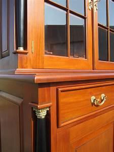Biedermeier Stil Interesting Holztruhe Tischtruhe